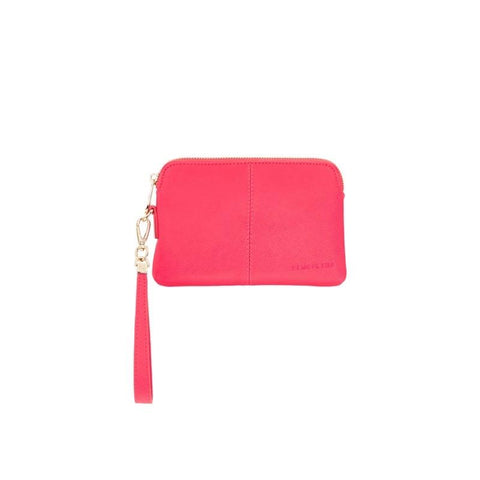 ELMS+KING BOWERY COIN PURSE - RASPBERRY
