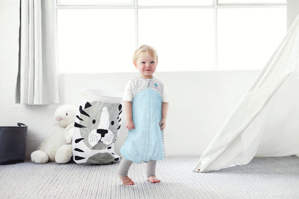 LOVE TO DREAM - SLEEP SUIT 0.2 TOG BLUE