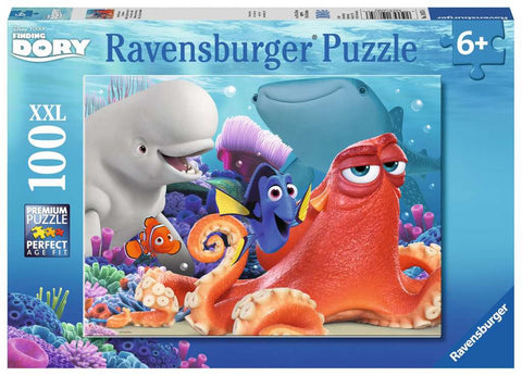 RAVENSBURGER - FINDING DORY 100PC PUZZLE 6+