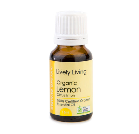 LIVELY LIVING - ORGANIC LEMON