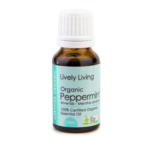 LIVELY LIVING - ORGANIC PEPPERMINT