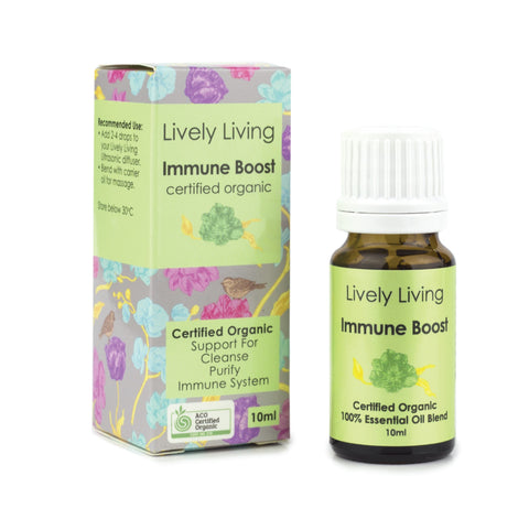 LIVELY LIVING ESSENTIAL OILS - IMMUNE BOOST