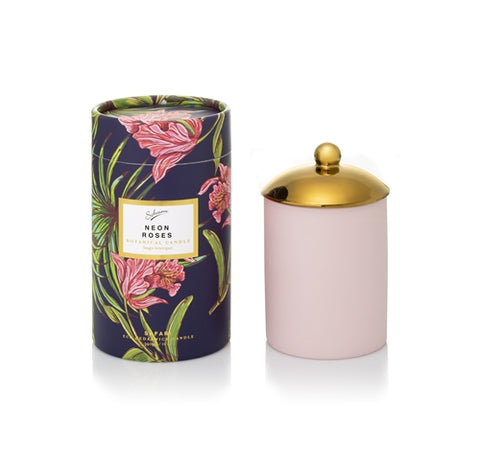 SOHUM ECO CANDLE - NEON ROSES