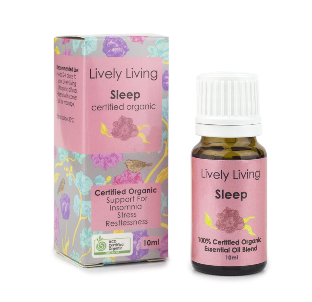 LIVELY LIVING ESSENTIAL OIL - SLEEP