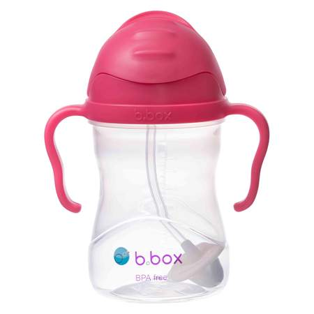 NEW BBOX SIPPY CUP - RASPBERRY