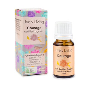 LIVELY LIVING ESSENTIAL OILS - COURAGE