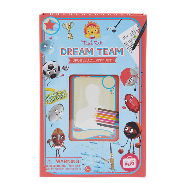 TIGER TRIBE - DREAM TEAM SPORTS ACTIVITY SET