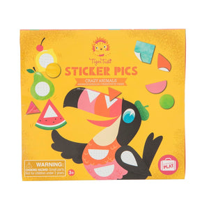 TIGER TRIBE - STICKER PICS CRAZY ANIMALS