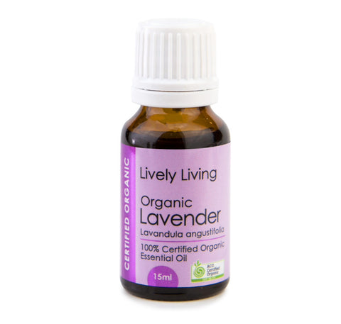 LIVELY LIVING ESSENTIAL OIL - ORGANIC LAVENDER