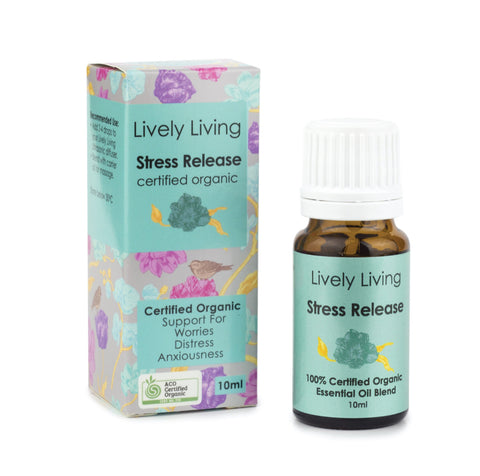 LIVELY LIVING ESSENTIAL OILS - STRESS RELEASE