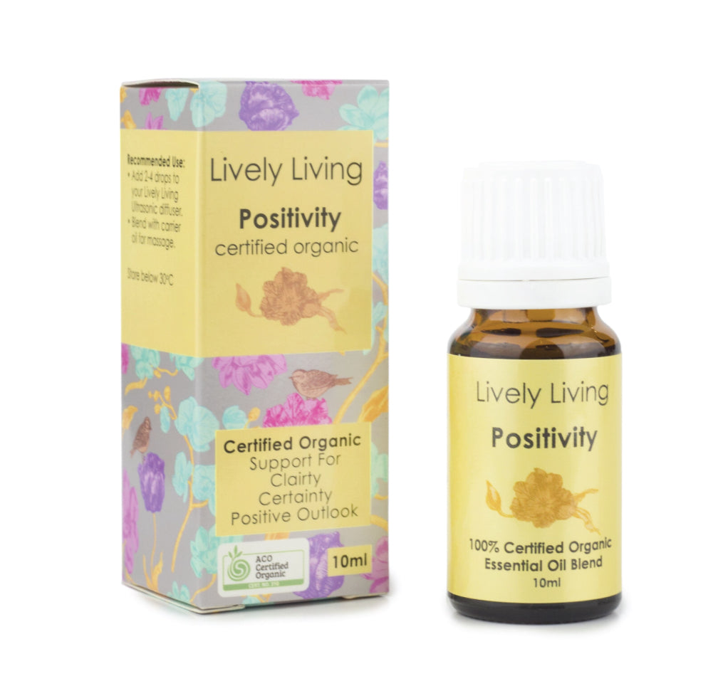 LIVELY LIVING ESSENTIAL OILS - POSITIVITY