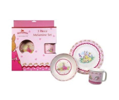 BUNNYKINS 3PC SET SWEETHEART