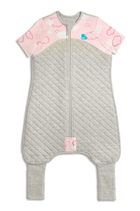 LOVE TO DREAM - SLEEP SUIT 1.0 TOG PINK