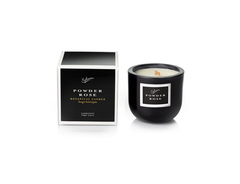 SOHUM ECO CEDARWICK CANDLE 100gm - POWDER ROSE