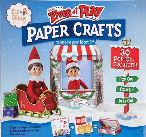 THE ELF ON THE SHELF - SCOUT ELVES AT PLAY PAPER CRAFTS