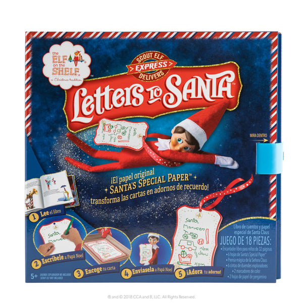 THE ELF ON THE SHELF - LETTERS TO SANTA