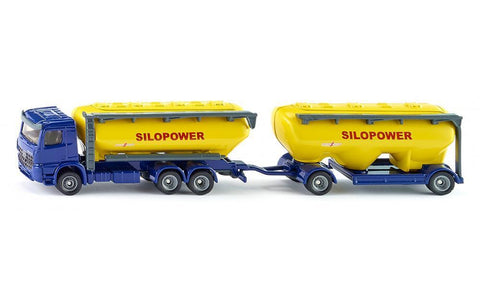 SIKU - 1:87 TRUCK WITH FEEDSTUFF SILO 1809