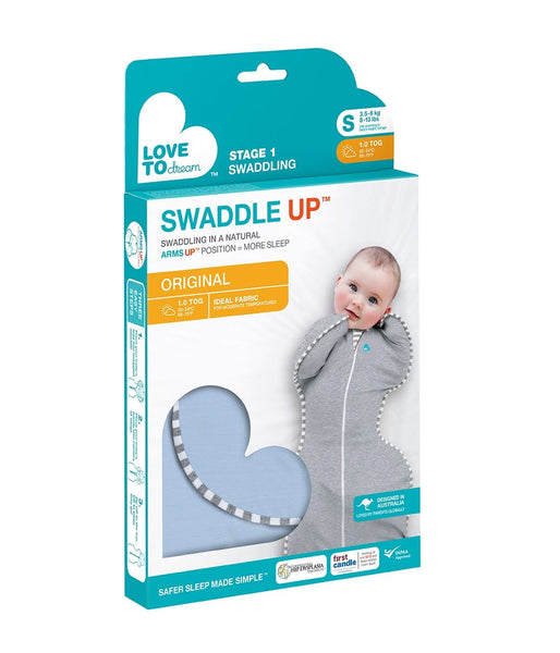 LOVE TO DREAM - SWADDLE UP ORIGINAL 1.0 TOG BLUE