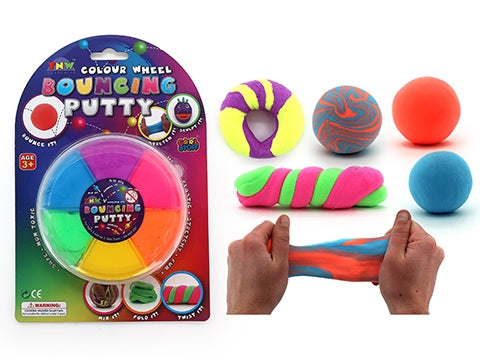 BOUNCING PUTTY COLOUR WHEEL