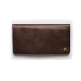 STITCH & HIDE - JESSE CLASSIC WALLET CHOCOLATE