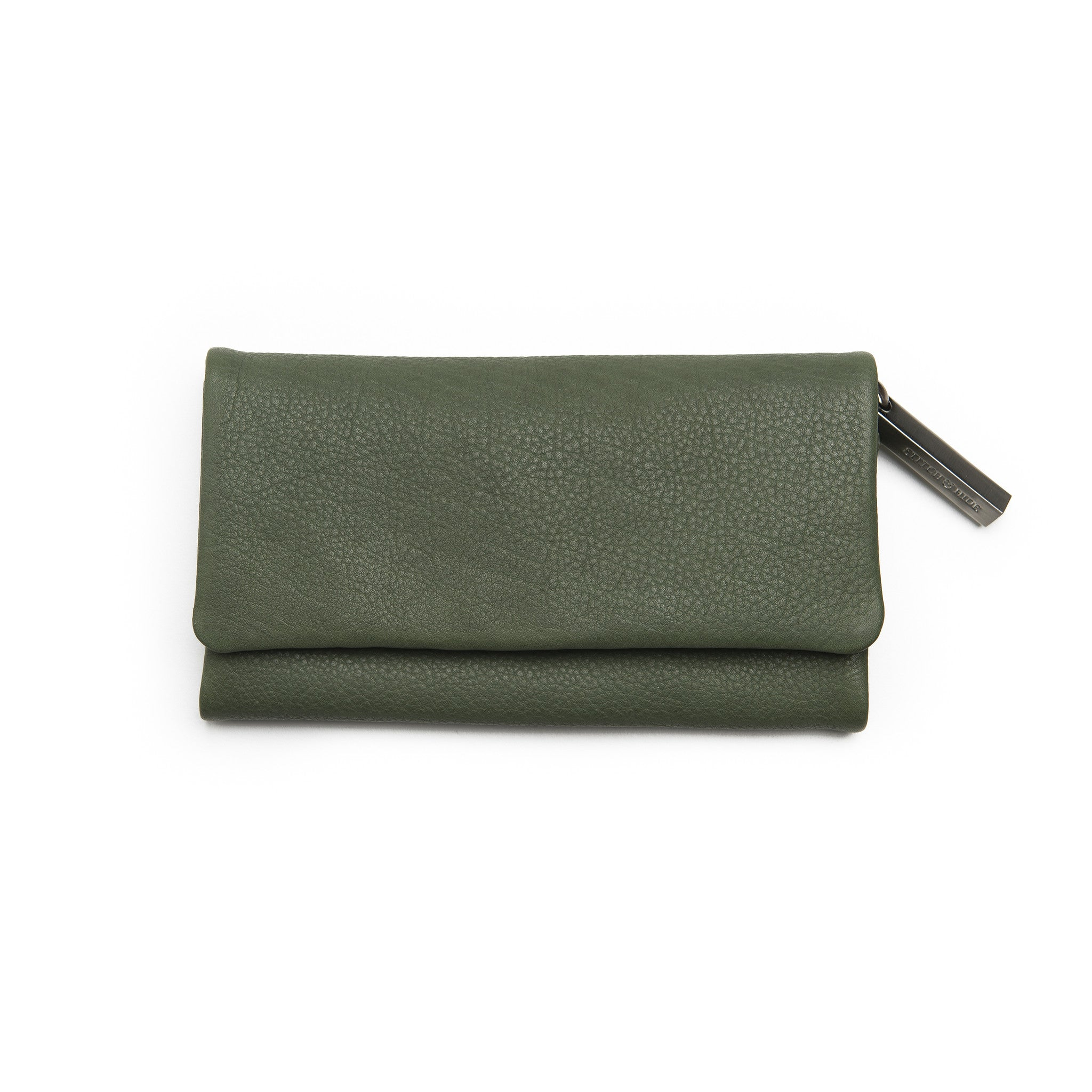 STITCH & HIDE - PAIGET WALLET OLIVE