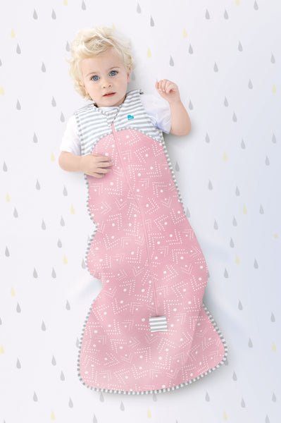 LOVE TO DREAM - SLEEP BAG 0.2 TOG PINK