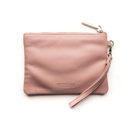 STITCH & HIDE - CASSIE CLUTCH DUSTY PINK