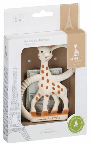 SOPHIE LA GIRAFE - SO PURE TEETHING RING