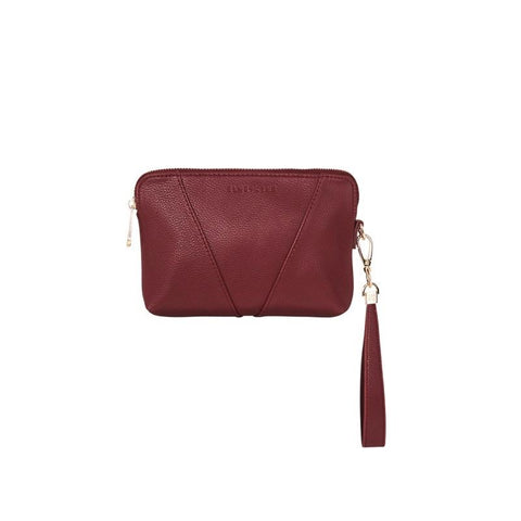 ELMS+KING MILAN PURSE - MAROON