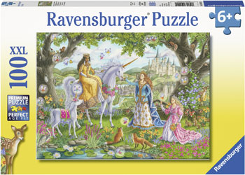 RAVENSBURGER - PRINCESS PARTY 100PC PUZZLE