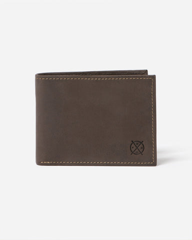 STITCH & HIDE - GEORGE WALLET SLATE