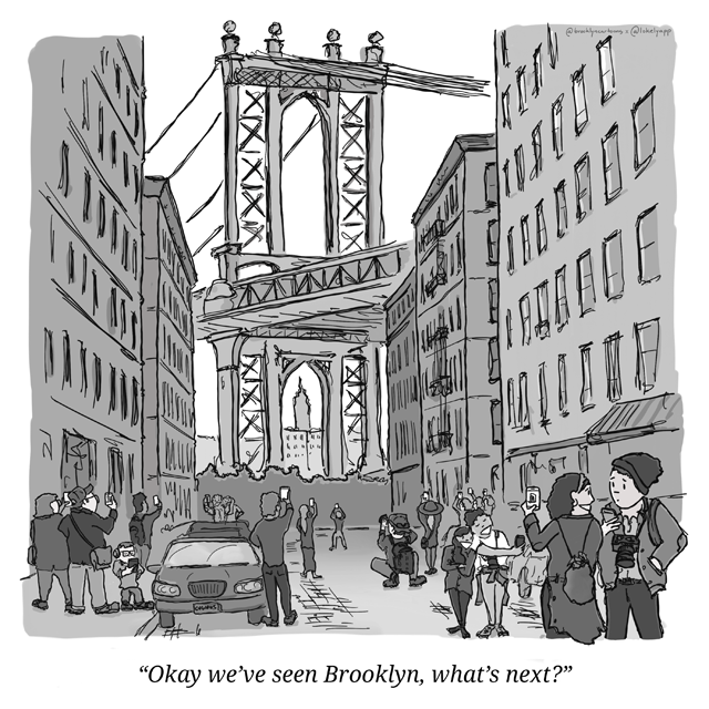 Okay we've seen Brooklyn, what's next?