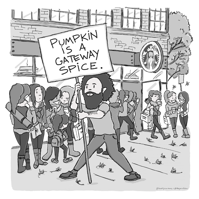 Pumpkin is a gateway spice