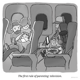 The first rule of parenting: television