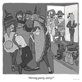 Wrong party, sorry!