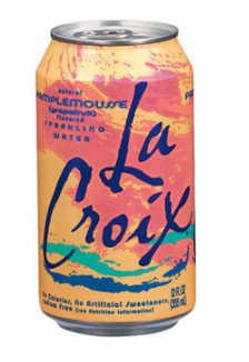 La Croix Temporary Tattoo