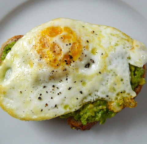 Egg on Avocado Toast