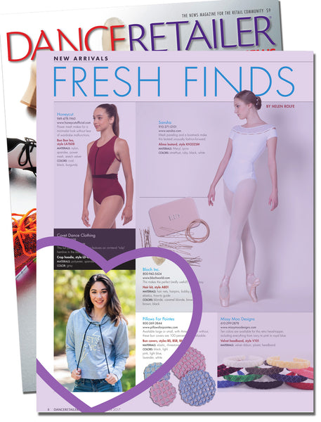 'Lets Dance' Crop Hoodie and 'Ballerina Classique' Muscle Tank in Dance Retailer News | October Issue