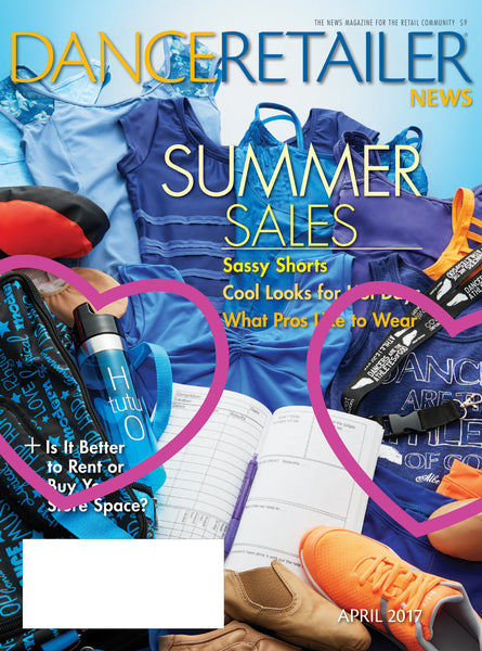 Dance Retailer News Cover and Summer Lovin' Editorial