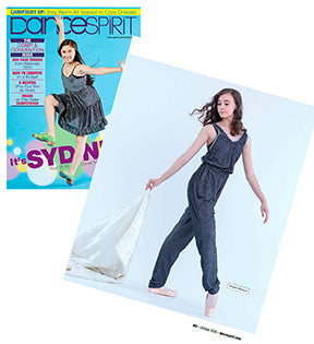Dance Spirit Features Our Romper