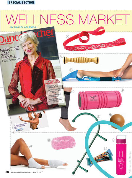H tutu O Water Bottle Featured in March 2017 Issue of Dance Teacher Magazine