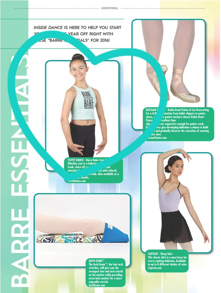 Inside Dance Magazine's Barre Essentials