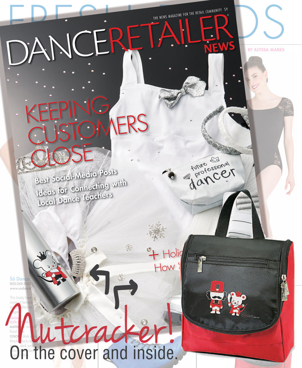 Nutcracker and Mouse King Made The Cover (and inside) of Dance Retailer News