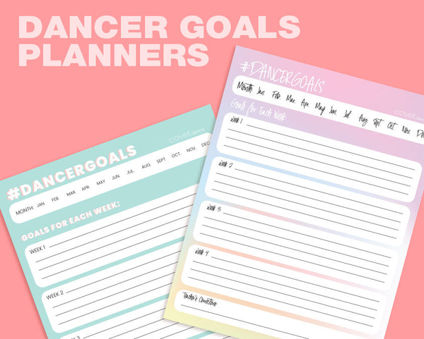 Dancer Goals Planner
