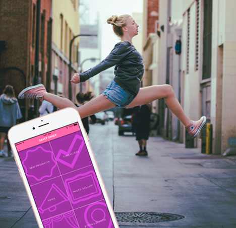 Announcing the Covet Dance App