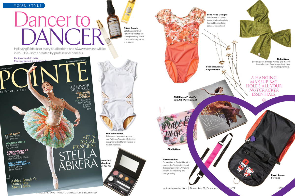 Holiday Gift Ideas For Dancers Pointe Magazine Covet Dance