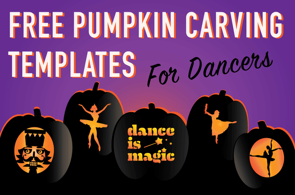Exclusive Dancer Pumpkin Carving Templates
