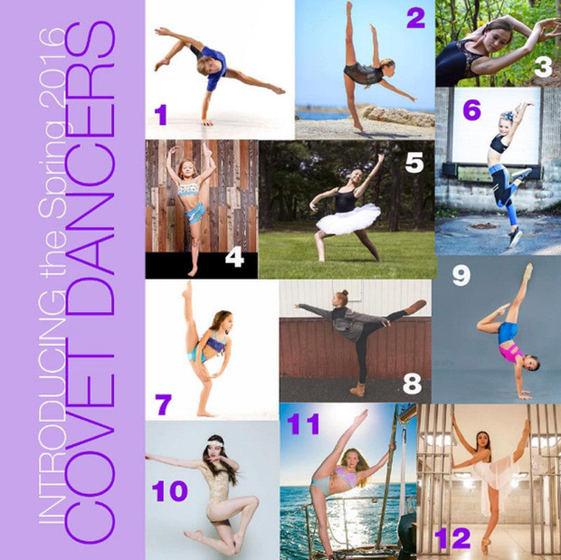 Introducing our Spring 2016 Covet Dancers