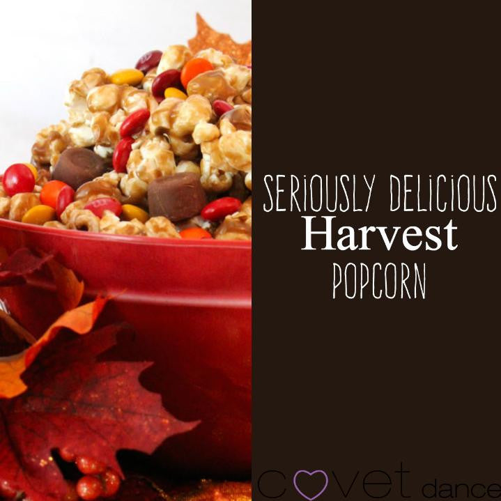 One of Our Fall Favorites! Harvest Popcorn