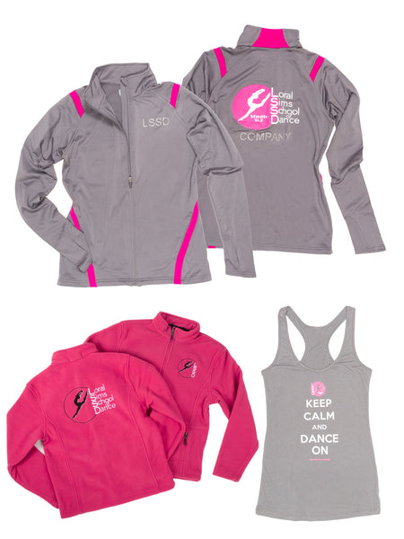 Loral Sims School of Dance Custom Logowear